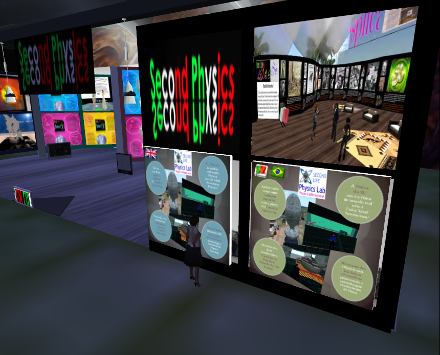 artigo Second Physics: Popularization and Outreach of Science in the Italian Second Life Community