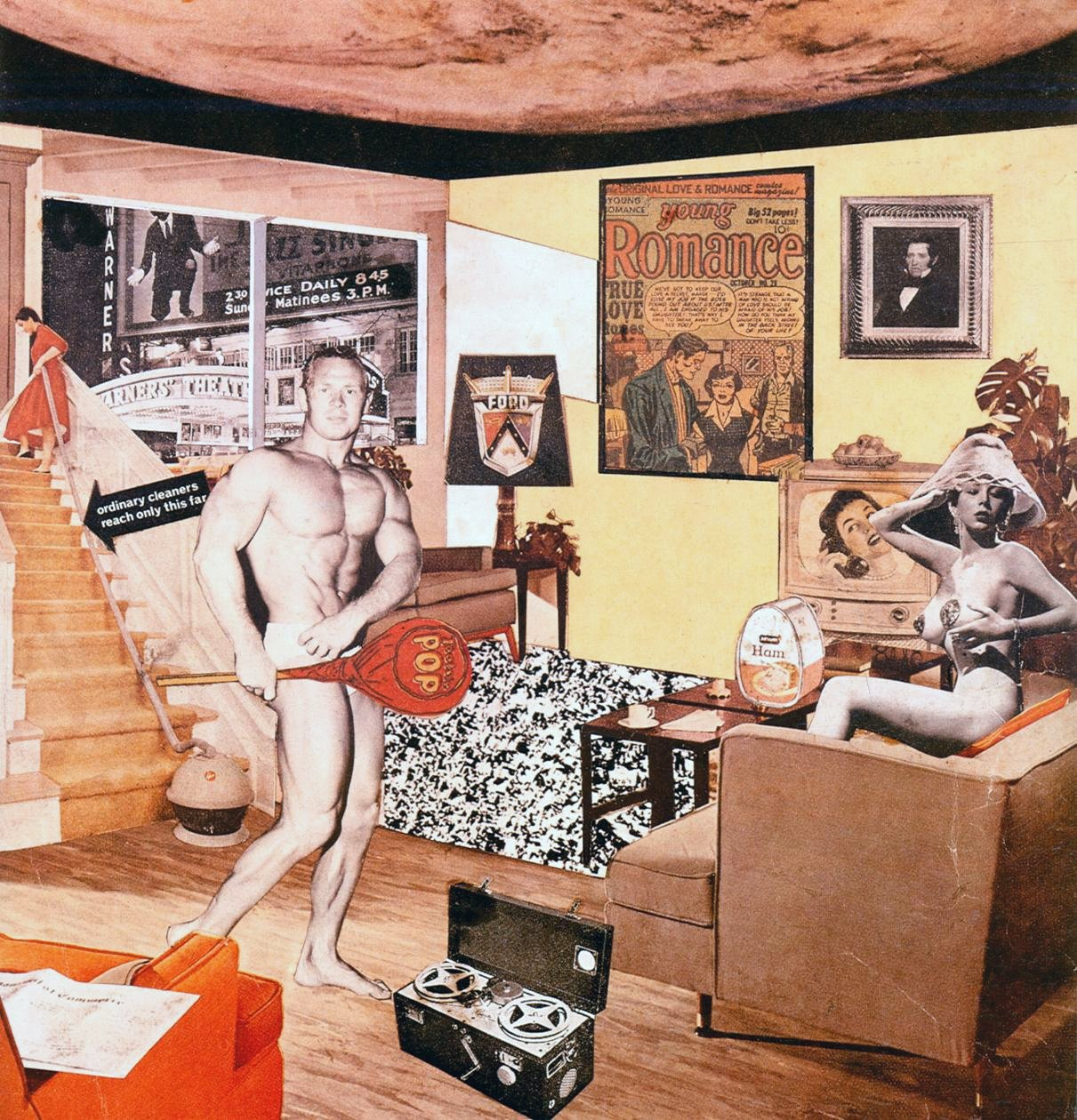 'Just what is it that makes today's homes so different, so appealing?'. Richard Hamilton