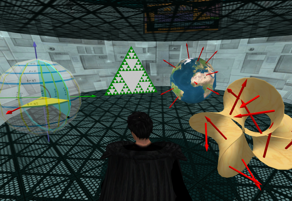 Math simulators on SL Physics Lab 2nd. Floor