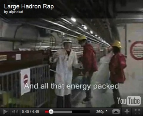 Vídeo 'O Rap do CERN'