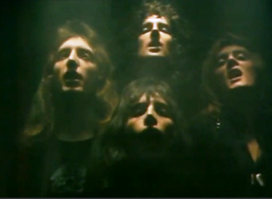 vídeo 'Bohemian Rhapsody, Queen'